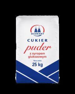 CUKIER PUDER Z SYROPEM GLUKOZOWYM 25 KG