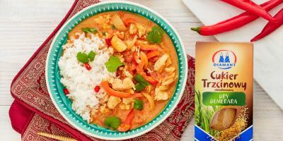 Cukier trzcinowy | Słodkie curry z kurczakiem