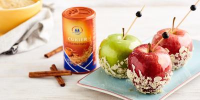Cukier cynamonowy | Jabłka w karmelu