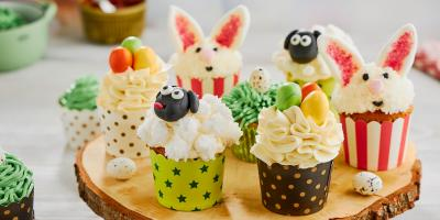 Cukier dekoracyjny | Wielkanocne muffiny